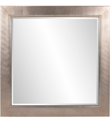 Howard Elliott Collection 5036 Millennium 60 X 30 inch Bright Silver Leaf Wall Mirror, Square, Small photo