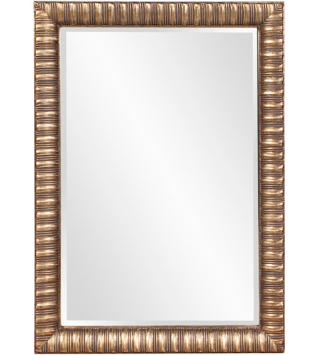Howard Elliott Collection 5179 Moore 41 X 29 inch Antique Mottled Silver Wall Mirror, Rectangle photo