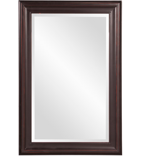 Howard Elliott Collection 53047 George 33 X 25 inch Oil Rubbed Bronze Wall Mirror photo