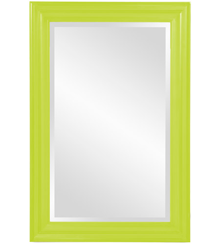 Howard Elliott Collection 53049MG George 36 X 24 inch Glossy Green Wall Mirror photo