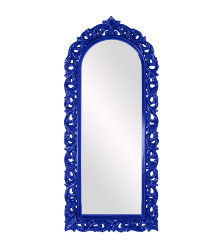 Howard Elliott Collection 53050RB Orleans 47 X 30 inch Royal Blue Wall Mirror photo
