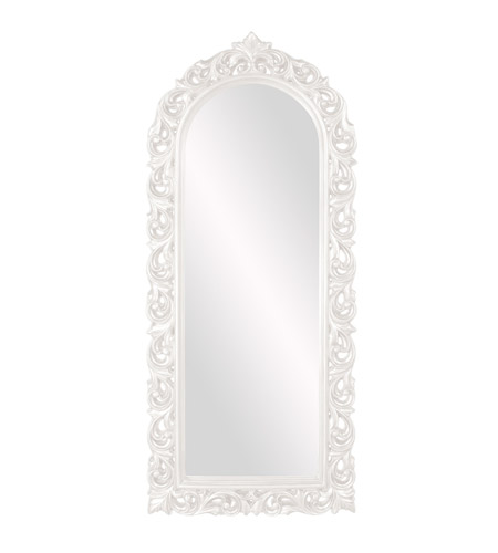 Howard Elliott Collection 53050W Orleans 47 X 30 inch White Wall Mirror photo