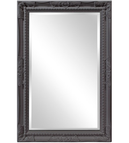 Howard Elliott Collection 53081CH Queen Ann 33 X 25 inch Gray Wall Mirror photo
