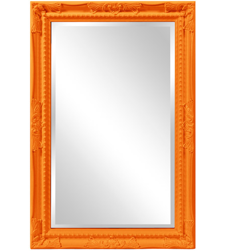 Howard Elliott Collection 53081O Queen Ann 33 X 25 inch Orange Wall Mirror photo