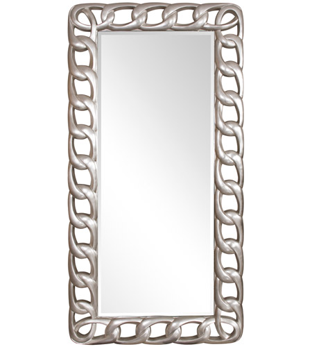 Howard Elliott Collection 53082 Lockhart 80 X 40 inch Bright Silver Wall Mirror photo