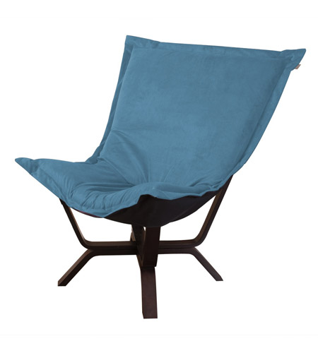 Howard Elliott Collection 540-250 Mojo Turquoise Blue Accent Chair photo