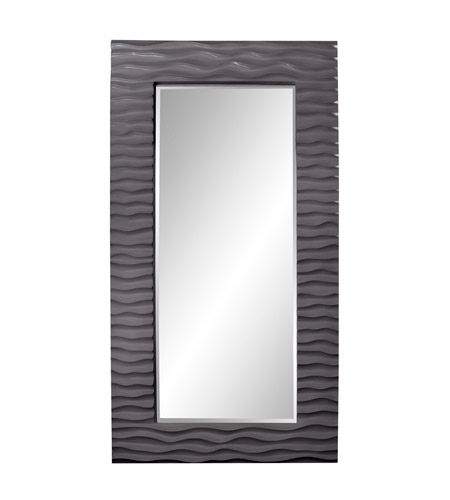 Howard Elliott Collection 56001CH Broadway 58 X 30 inch Charcoal Gray Wall Mirror photo