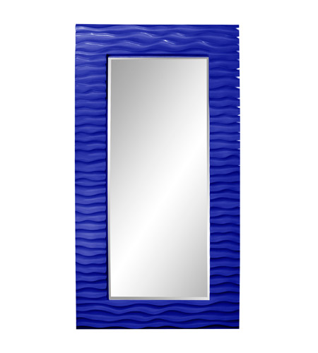 Howard Elliott Collection 56001RB Broadway 58 X 30 inch Royal Blue Wall Mirror photo