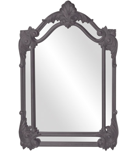 Howard Elliott Collection 56004CH Cortland 47 X 32 inch Charcoal Gray Wall Mirror photo