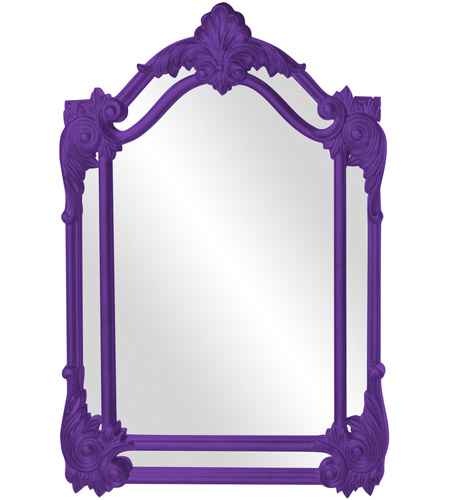 Howard Elliott Collection 56004RP Cortland 47 X 32 inch Royal Purple Wall Mirror photo