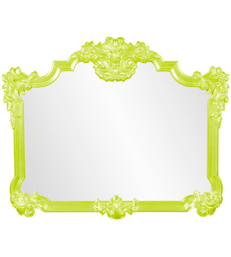 Howard Elliott Collection 56006MG Avondale 48 X 39 inch Green Wall Mirror photo