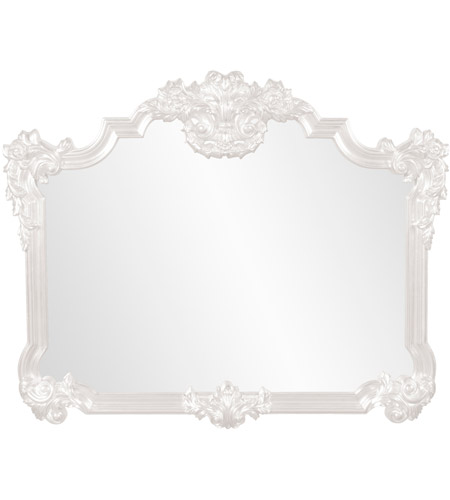 Howard Elliott Collection 56006W Avondale 48 X 39 inch White Wall Mirror photo