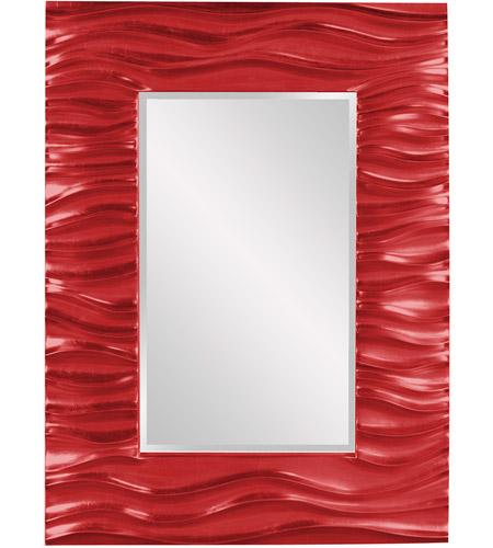 Howard Elliott Collection 56042R Zenith 39 X 31 inch Red Wall Mirror