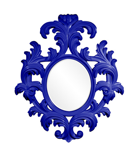 Howard Elliott Collection 56044RB Alexi 59 X 50 inch Royal Blue Wall Mirror photo