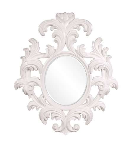 Howard Elliott Collection 56044W Alexi 59 X 50 inch White Wall Mirror photo
