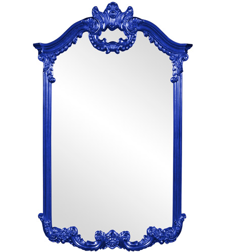 Howard Elliott Collection 56048RB Roman 51 X 32 inch Royal Blue Wall Mirror photo