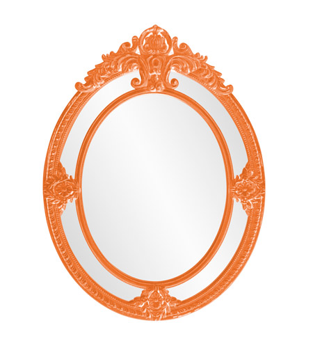 Howard Elliott Collection 56096O Penelope 52 X 39 inch Orange Wall Mirror photo