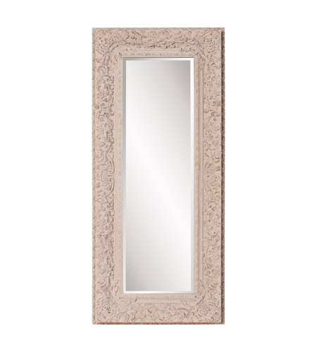 Howard Elliott Collection 56098 Mitchum 71 X 32 inch Rustic Textured Taupe Wall Mirror, Rectangle photo