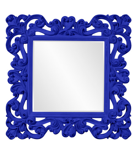 Howard Elliott Collection 56099RB Reese 47 X 47 inch Royal Blue Wall Mirror photo