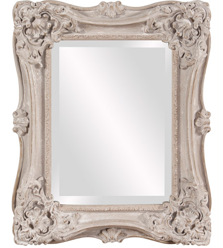 Howard Elliott Collection 56138 Sara 22 X 18 inch Antique Taupe Wall Mirror, Rectangle photo