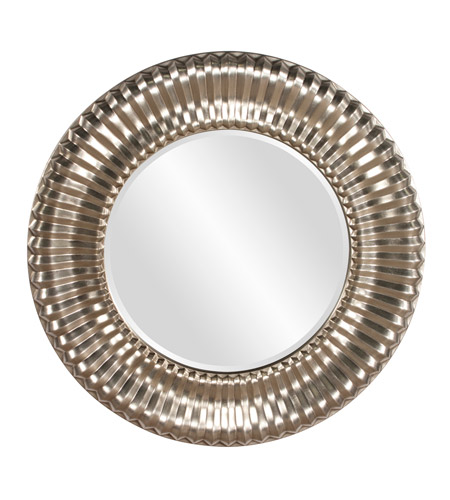 Howard Elliott Collection 56149 Sao Paulo 31 X 31 inch Bright Silver Wall Mirror, Round photo