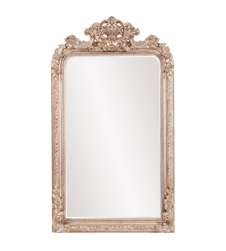Howard Elliott Collection 56159 Edith 62 X 36 inch Champagne Silver Wall Mirror, Rectangle photo