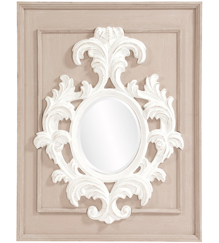 Howard Elliott Collection 56163 Blanche 38 X 29 inch Taupe Wall Mirror photo