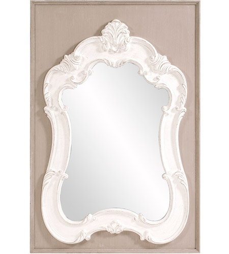 Howard Elliott Collection 56164 Clara 54 X 36 inch Taupe Wall Mirror photo