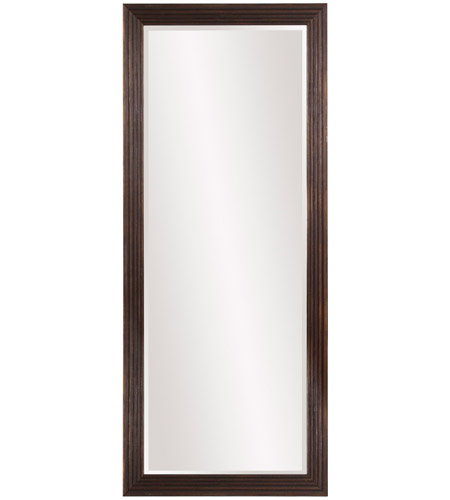 Howard Elliott Collection 57024 Maxwell 72 X 30 inch Dark Espresso Brown Floor Mirror photo