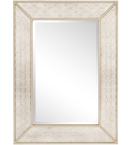 Howard Elliott Collection 60001 Rockefeller 48 X 35 inch Silver Wall Mirror photo