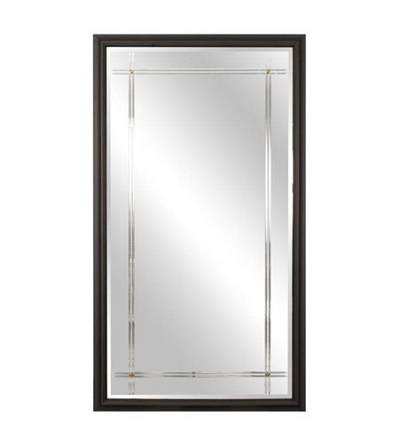 Howard Elliott Collection 60006 Humphrey 82 X 46 inch Black Wall Mirror photo