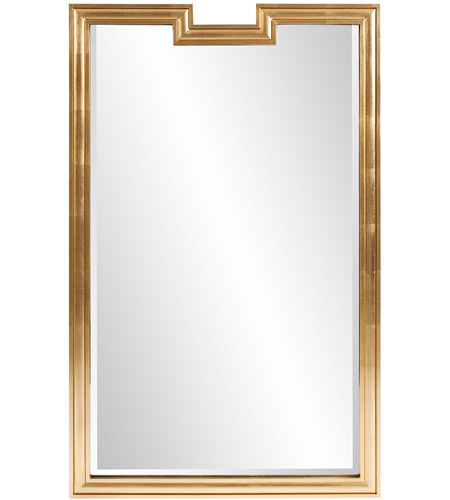 Howard Elliott Collection 60028 Danube 48 X 30 Inch Gold Mirror Wall