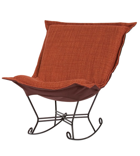 Howard Elliott Collection 655-885 Coco Terra Cotta Rocker Chair photo