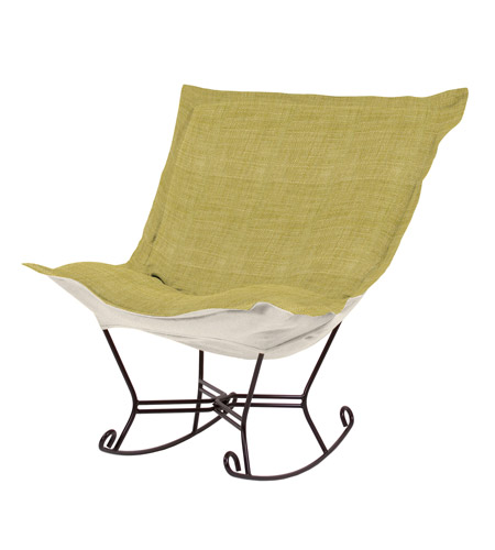 Howard Elliott Collection 655-887 Coco Green Rocker Chair photo