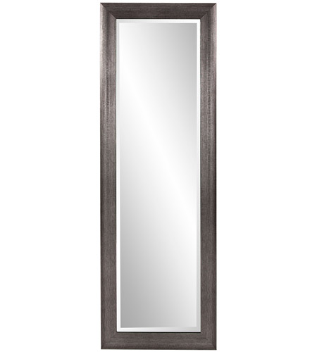 Howard Elliott Collection 69048 Maverick 72 X 24 inch Textured Silver Wall Mirror, Rectangle photo