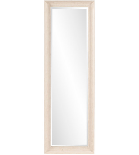 Howard Elliott Collection 69059 Parker 72 X 24 inch Creamy White and Wood Grain Wall Mirror photo