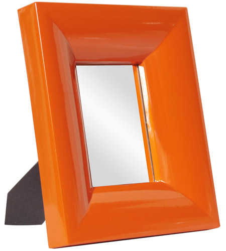 Howard Elliott Collection 78004 Candy 9 X 9 inch Orange Table Mirror, Rectangle photo