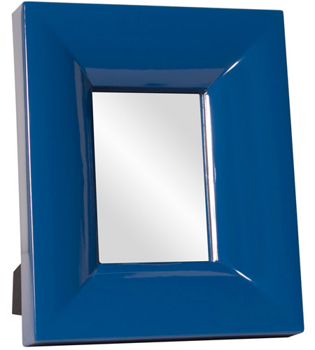 Howard Elliott Collection 78005 Candy 9 X 9 inch Cobalt Blue Table Mirror, Rectangle photo