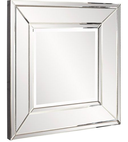 Howard Elliott Collection 79009 Caruso 36 X 36 inch Wall Mirror, Square photo