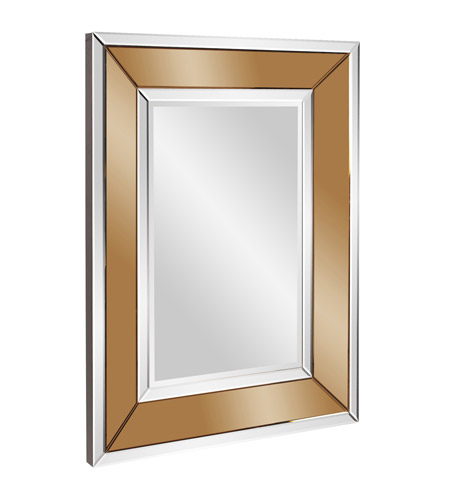 Howard Elliott Collection 79010 Caruso 47 X 36 inch Copper Wall Mirror, Rectangle photo