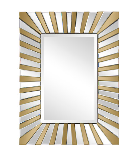 Howard Elliott Collection 79016 Colleen 40 X 30 inch Copper Wall Mirror, Rectangle photo