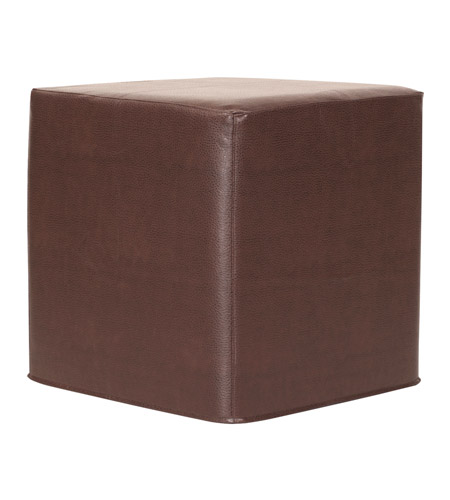 Howard Elliott Collection 850-192 Avanti 17 inch Deep Brown Ottoman photo