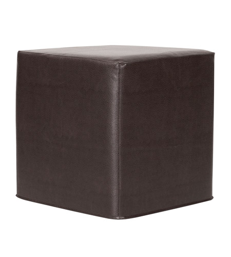 Howard Elliott Collection 850-194 Avanti 17 inch Black Ottoman photo