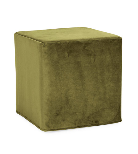 Howard Elliott Collection 850-221 Bella 17 inch Moss Green Ottoman photo