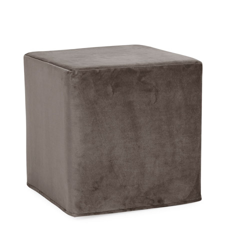 Howard Elliott Collection 850-225 Bella 17 inch Pewter Gray Ottoman photo