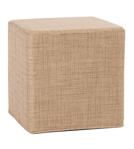 Howard Elliott Collection 850-888 Coco 17 inch Stone Brown Ottoman photo