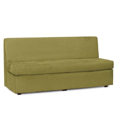 Howard Elliott Collection 858 221 Slipper Moss Green Velvet Fabric Sofa