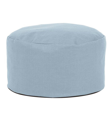 Howard Elliott Collection 871-200 Accent Furniture 12 inch Blue Ottoman photo