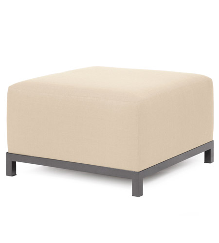 Howard Elliott Collection 902-203 Axis 30 inch Sand Ottoman Cover photo