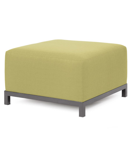 Howard Elliott Collection 902-204 Axis 30 inch Willow Green Ottoman Cover photo